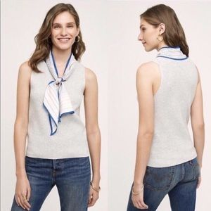 Anthropologie Moth sweater tank with scarf!